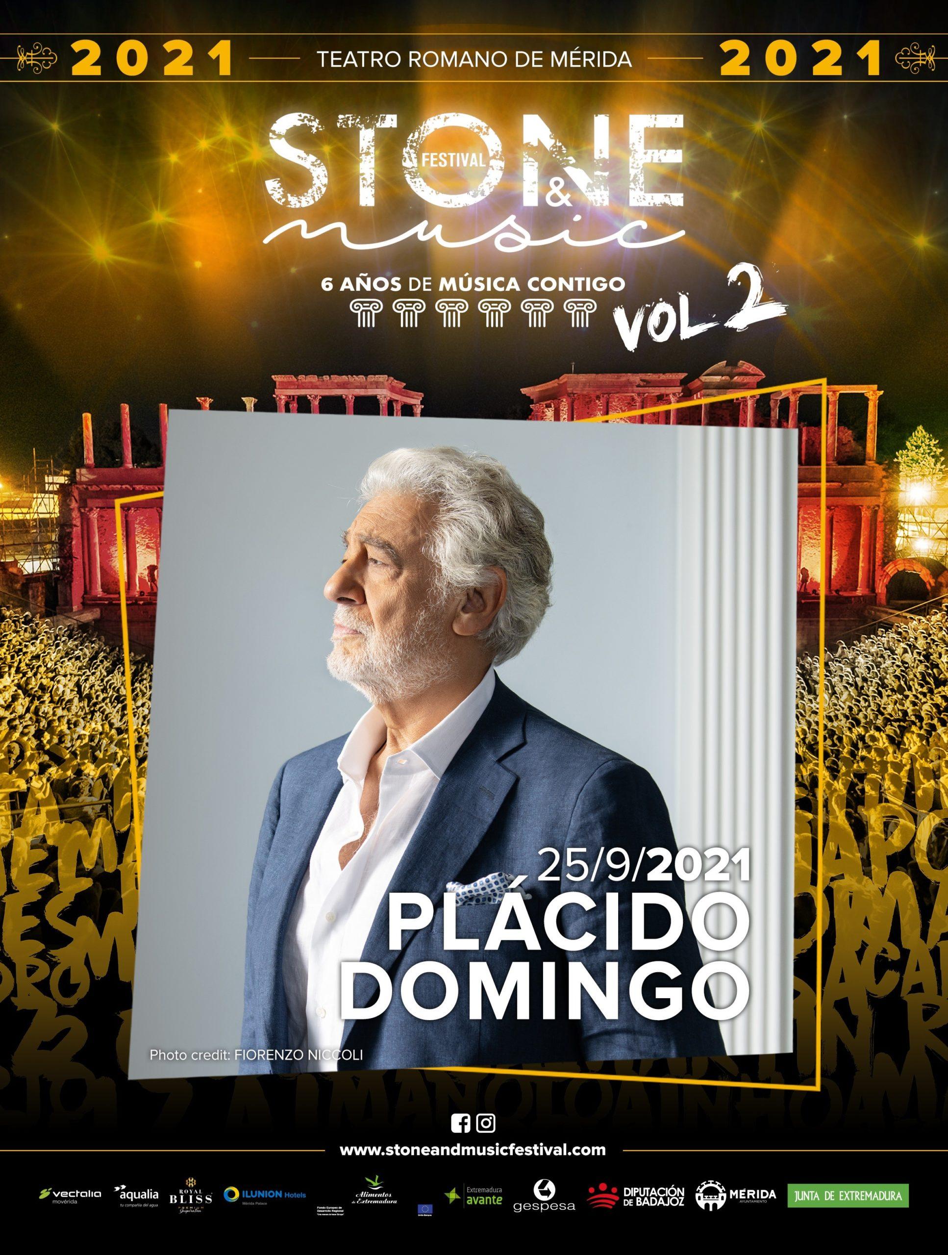 16-07-2021 Actuación de Plácido Domingo CULTURA ESPAÑA EUROPA EXTREMADURA FESTIVAL STONE&MUSIC