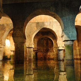 34476873 - old arabic cistern, caceres, extremadura, spain