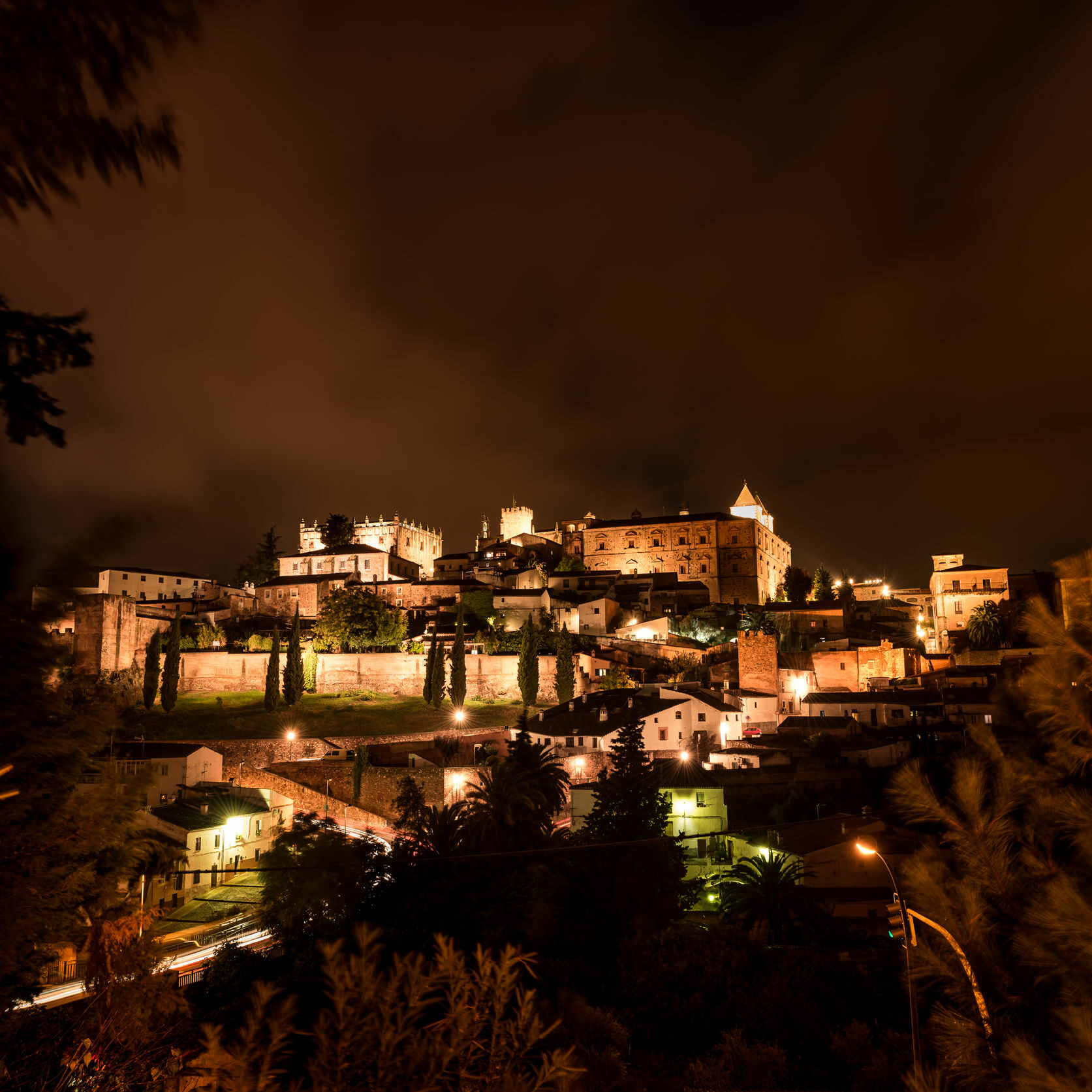 67149192 - caceres is a province located to the west of spain, to the north of the autonomous community of extremadura.